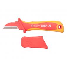 Нож для снятия изоляции с частично изолированым лезвием 1000В