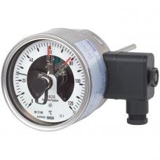 Биметаллический термометр с электроконтактами 55-8xx