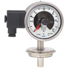Манометрический термометр с переключающими контактами 74-8xx