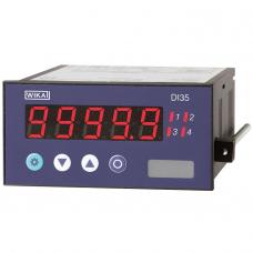 Цифровой индикатор для монтажа в панель DI35