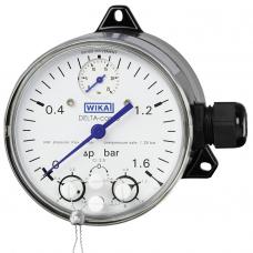 Манометры дифференциального давления с микропереключателями DPGS40TA