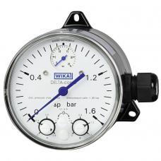 Манометры дифференциального давления с микропереключателями DPGS40