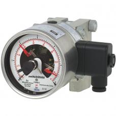 Манометр дифференциального давления с электроконтактами DPGS43HP.100,  DPGS43HP.160