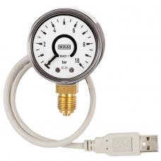 Манометр с трубкой Бурдона и аналоговым выходным сигналом PGT10 USB