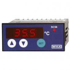 Контроллер температуры с цифровым индикатором SC58